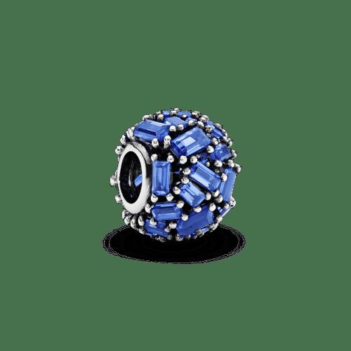 Charm Cubo de hielo azul