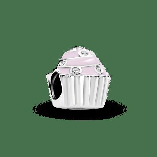 Charm Cupcake rosado