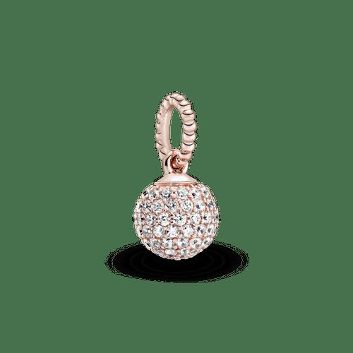 Dije Esfera de pavé Pandora Rose