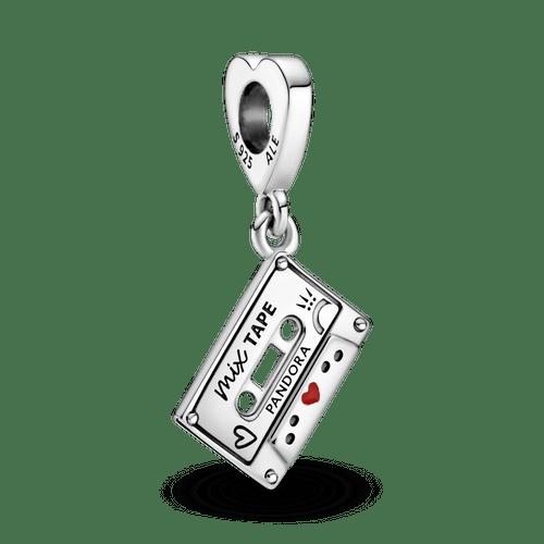 Charm colgante Cassette clásico