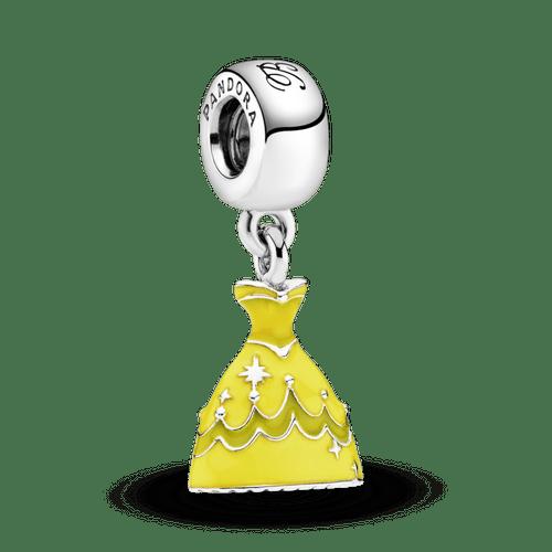 Charm Colgante Vestido De Bella de Disney
