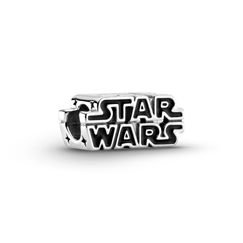 Charm Logo Star Wars 3D Plata