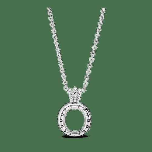 Collar Con Medallón De Corona O Pandora