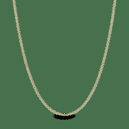 Collar de cadena Oro 14K de ancla clásico
