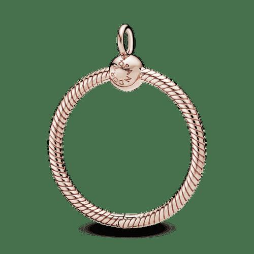 Dije O Pandora Moments Mediano Recubrimiento en Oro Rosa de 14k