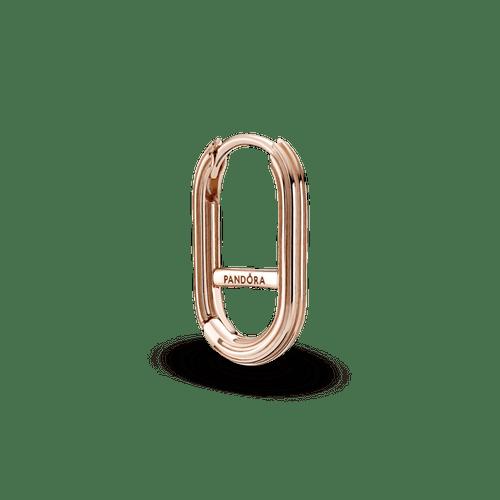 Eslabón Para Aro Recubrimiento en Oro Rosa De 14K Pandora Me