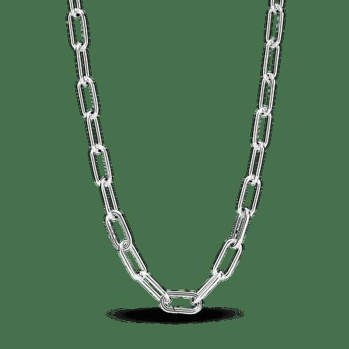 Collar De Cadena 45 Cm De Eslabones Pandora Me